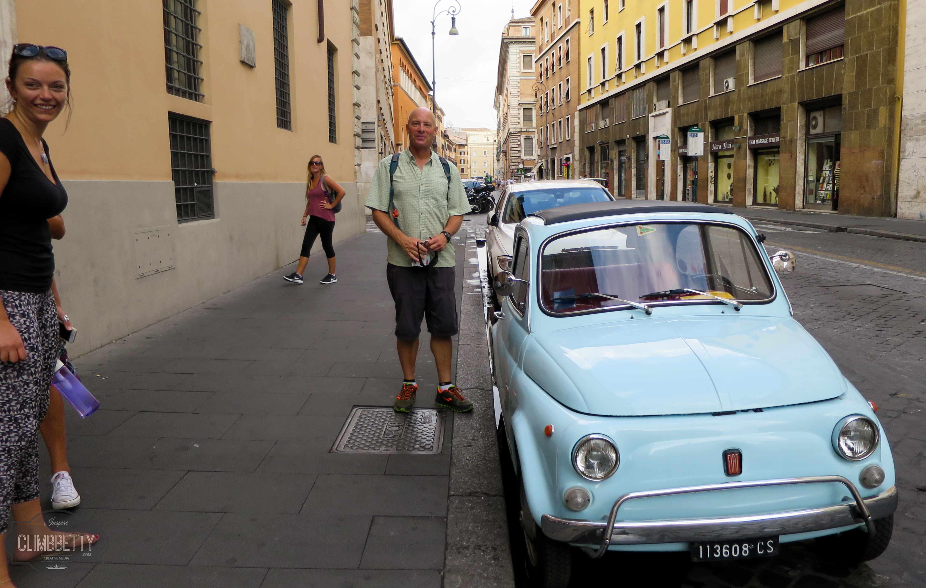 small fiat cars in rome